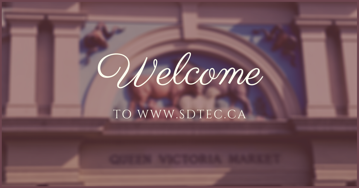 Introduction to www.sdtec.ca